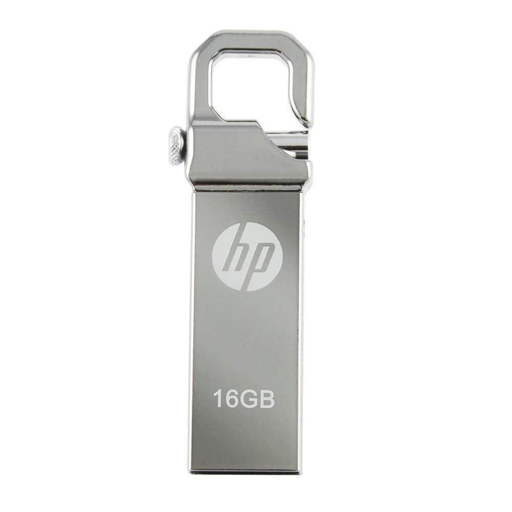 HP v250w Stainless Steel USB Flash Drive - 16GB