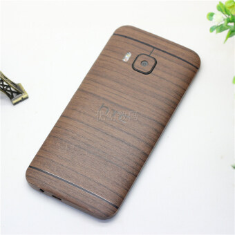 Htc one M7 M8 M9 M9+ plus mobile phone shell stickers wood front and rear stickers body film color film