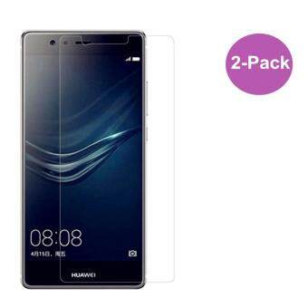 Harga Huawei P9 Screen Protector[2-Pack], [3D Curved Tempered Glass][Anti-Scratch] [Anti-Fingerprint] [Bubble Free] (P9 5.2'')