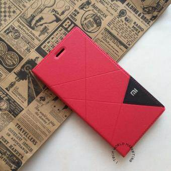 Harga I Tech Full Cover PU Leather Flip Case for Xiaomi Redmi 4X (Red)