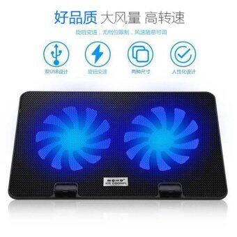 ICE COOREL A6 [NP27] Laptop Cooler Cooling Pads Super Mute 2 Big Fans Ice Cooling for Laptop/Notebook Malaysia