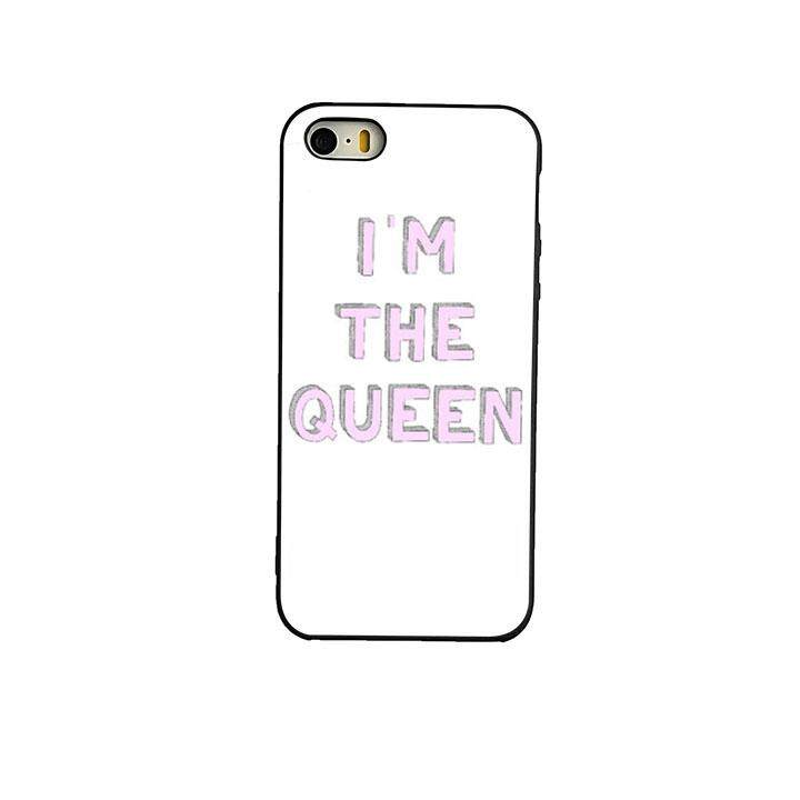 Im The Queen Tumblr phone case back cover for iPhone 5 5s SE - intl