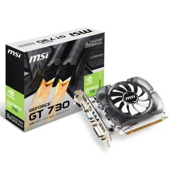 Harga MSI NVIDIA Geforce GT730 4GB DDR3 V2 Graphic Card