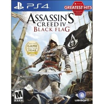 Harga PS4 ASSASSINS CREED IV BLACK FLAG (R1)