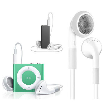 Harga Earphone with Mic For apple iPhone 6plus/5S/5/5C/4/4S/3GS/ipod