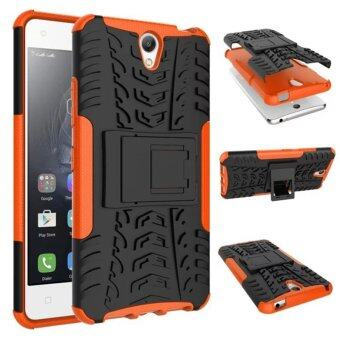 Harga Moonmini Kickstand Hybrid Shockproof Case for Lenovo Vibe S1 (Orange)