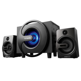 Harga SonicGear Titan 5 Multimedia Speaker with 7 Pulsating LED