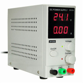Harga Switching DC Power Supply Adjustable Variable Precision 0~30V 0~5A Lab DD with Power Cable