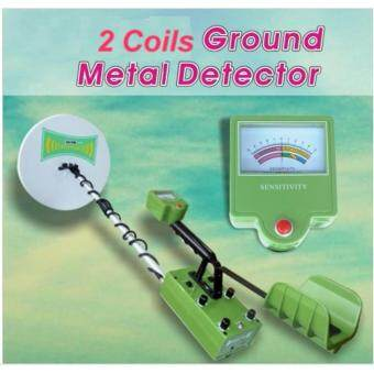 Harga Underground Treasure Hunter Gold Detector With Two Coils(4.5M Deep)(MTD-22B)
