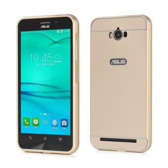 Harga Moonmini PC Back Cover Metal Bumper Frame Case for Asus ZenFone Max ZC550KL (Gold)