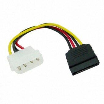 Harga Hard Disk IDE to Serial ATA SATA II 15 Pin Power supply Cable connector 10cm