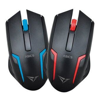 Harga Alcatroz Asic 5 High Resolution Optical Mouse Twin Pack Free Mousemat (Blue and Red)