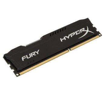 Harga Kingston 4GB Hyper X Fury 1600 Dimm Ram Black - HX316C10FB/4