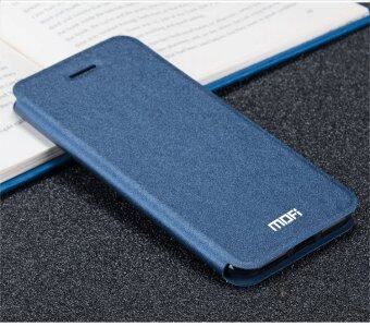 Harga Mofi Flip Leather Wallet Case Cover For Vivo Y55 / Vivo Y55A (Dark Blue)
