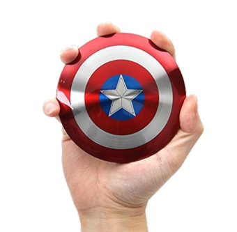 Harga Avengers Captain America Shield 6800mAh Power Bank
