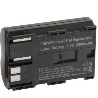 Harga High Capacity Replacement Battery For Canon BP-511/511A Compatible for Canon EOS 5D, 50D, 40D, 20D, 30D, 10D, Digital Rebel, 1D, D60, 300D, D30, Kiss, Powershot G5, Pro 1, G2, G3, G6, G1, Pro90