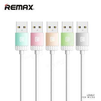 Harga REMAX Lovely Micro-USB Pink