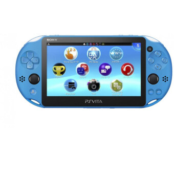 Harga PS VITA PLAYSTATION VITA NEW SLIM MODEL - PCH-2006 (AQUA BLUE)(SONY MALAYSIA WARRANTY)