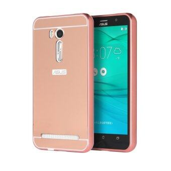 Harga Moonmini Metal Frame Bumper Case for Asus ZenFone Go ZB551KL 5.5 inch (Rose Gold)