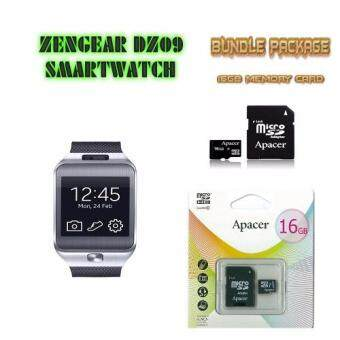Harga (Free 16GB memory card) ZenGear DZ09 Wearables Smart Watch