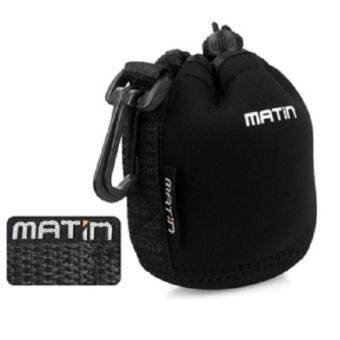 Harga Matin Neoprene Soft Waterproof Camera Lens Pouch Bag Case for Camera (S Size)
