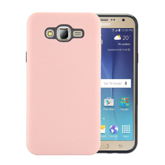 Harga Moonmini Case for Samsung Galaxy J7(2015) Full-Body Shockproof Combo Cover Case - Rose Gold