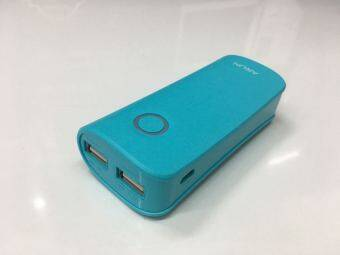 Harga ARUN Power Bank 4500mAh With Double USB Output Y27 (Blue)