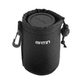 Harga Matin Neoprene Soft Waterproof Camera Lens Pouch Bag Case for Camera (L Size)