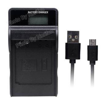 Harga NB-6L LCD Ultra Slim USB Charger for Canon PowerShot SX530 HS SX610 HS SX710 HS SD1200 IS SD1300 IS S120 IXY 10S IXY 30S Camera and More