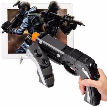 Harga Ipega 9057 Pistol Wireless Game Controller Joystick Hand Control Gamepad For VR IPhone Android Phone,Tablet, etc [The Phantom Shox Blaster Bluetooth Gun PG-9057]
