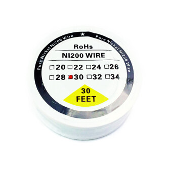 Harga Pure Nickel Ni200 Wire (30 Feet) - 30G