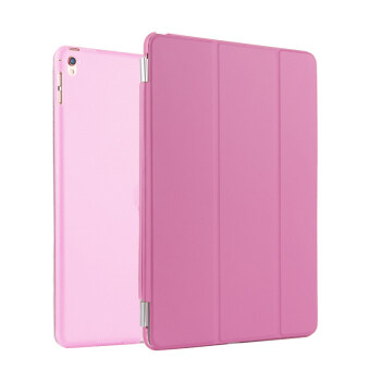 Harga BUILDPHONE PU Leather Smart Flip Pad Cover for Apple iPad Pro 9.7 (Pink)