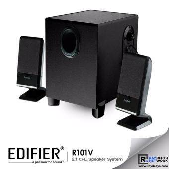 "Harga Edifier R101V 2.1CHL Multimedia Speaker 4"" Woofer"