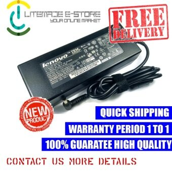 Harga Laptop AC Adapter Charger For Lenovo ADP-120LH B 19.5V 6.15A ( 120W ) 5.5*2.5mm