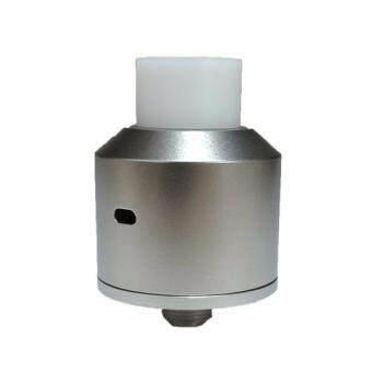 Harga NarDA Style RDA Rebuildable Dripping Atomizer - 22mm Diameter, 316 Stainless Steel, (Silver)