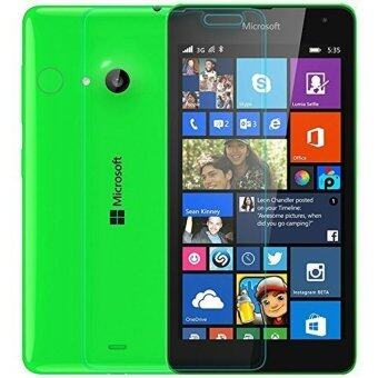 Harga Buy one, get one free 9H Hardness H Tempered Glass Screen Protector for Microsoft Lumia 535