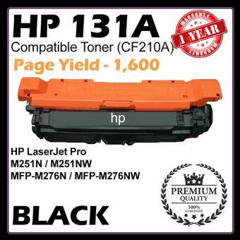 Harga (COMPATIBLE) CF210A / HP 131A for HP Laser BLACK Toner Cartridge M251N / M251NW / MFP-M276N / MFP-M276NW