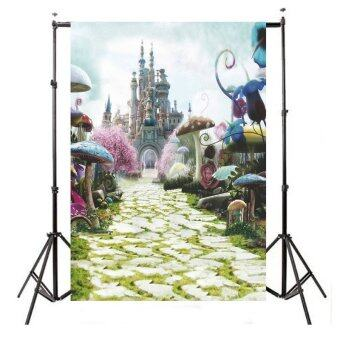 Harga 3x5Ft Wonderful Fairy Tale Castle Photography Backdrop Studio Props Background