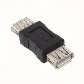 Harga Yika Details about NEW USB 2.0 A FEMALE TO FEMALE F-F ADAPTER Coupler CONNECTOR BLACK