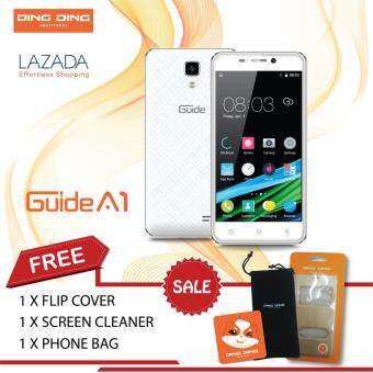 Harga Ding Ding guide A1 (2016) - 4.5Inch - QUAD CORE - 512MB+8GB (WHITE) -1 Year Ding Ding Malaysia Warranty