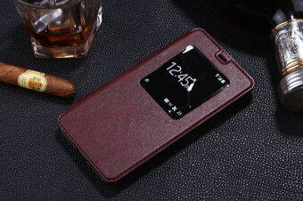 Harga Moonmini PU Leather Cover for Meizu M1 Note (Brown)