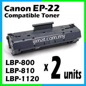 Harga 2 Units Compatible Laser Toner Cartridge EP-22 / Canon EP22 High Quality Compatible Toner For Canon LBP-800 / LBP-810 / LBP-1120 / LBP-250 / LBP-350 / LBP-1110 Printer Toner