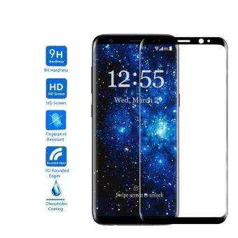 Harga Samsung Galaxy S8 Screen Protector, Gogerstar 9H HD Clear Full Coverage 3D Curved Tempered Glass Screen Protector for Samsung Galaxy S8(Black)