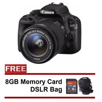 Harga Canon 100D Kiss X7 18-55mm Kit + 8GB + Bag