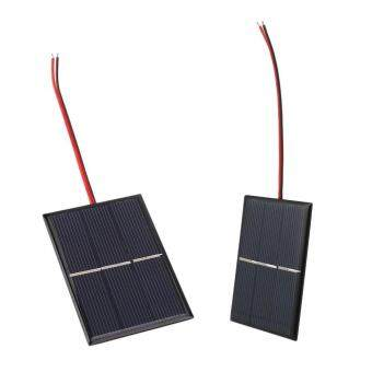 Harga 0.65W 1.5V Solar Power Cell Charger Panel DIY Module Solar Cells With Wire Cable