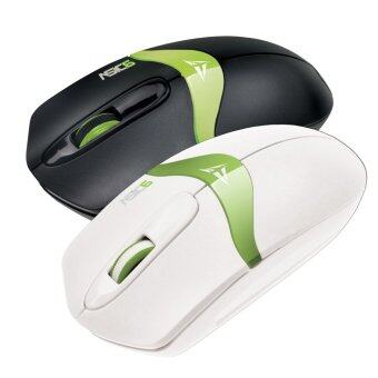 Harga Alcatroz Asic 6 High Resolution Optical Mouse Free Mousemat (Black/Green & White/Green)