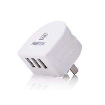 Harga REMAX 3.1A Fast Charging 3 USB Wall Charger Power Adapter