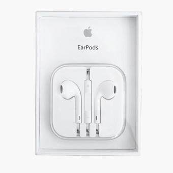 Harga Apple Earphones for All iPhone, iPad and iPod -White