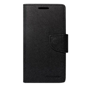 Harga Mercury Leather Fancy Diary Case for Samsung S5 (Black)