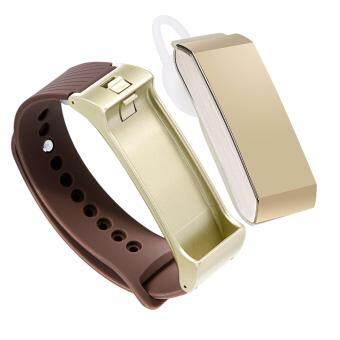 Harga K2 Headset Smart Watch Wristband Bluetooth Dialing Sport SleepTracker Smart Wrist Bracelet(gold)